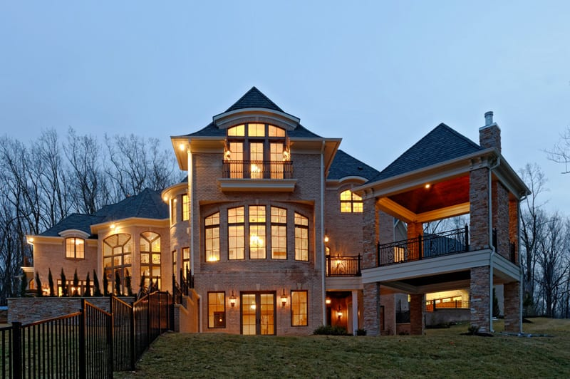 2014 Custom Builder Award of Excellence GOLD Speculative Traditional Home<br> The Stratford </br>
