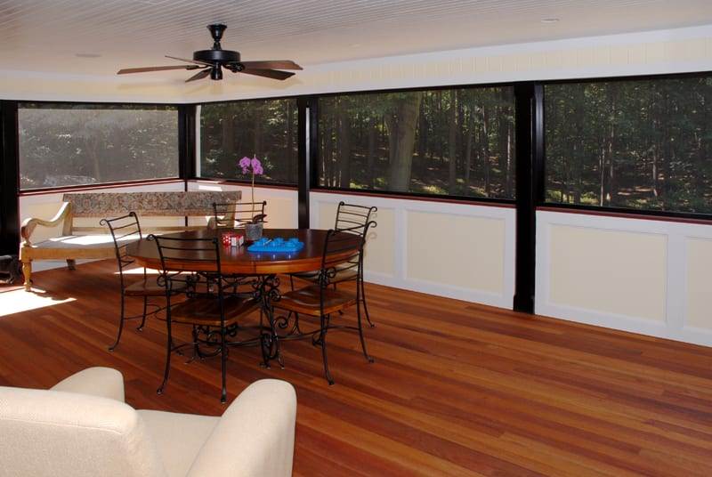 tagliareni screened porch